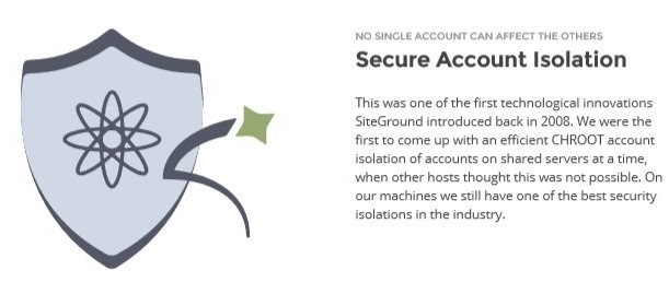 SiteGround Secure Account Isolation