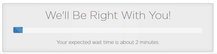 Netfirms Support Waiting Time