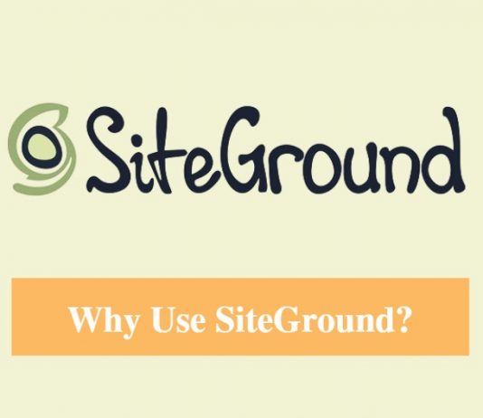 Why Use SiteGround