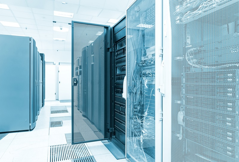 What is a server rack used for