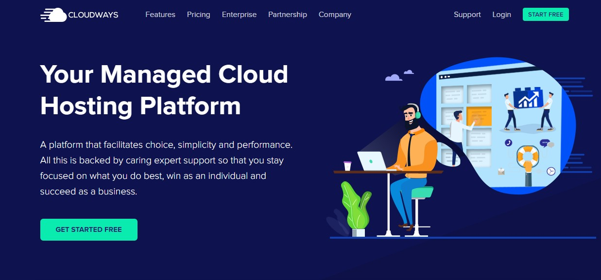 Best Web Hosting for Small Business Cloudways