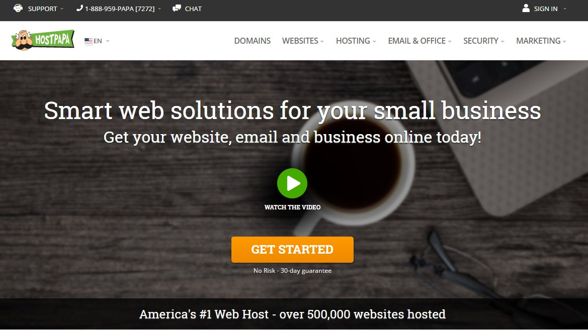 Best Web Hosting for Small Business HostPapa