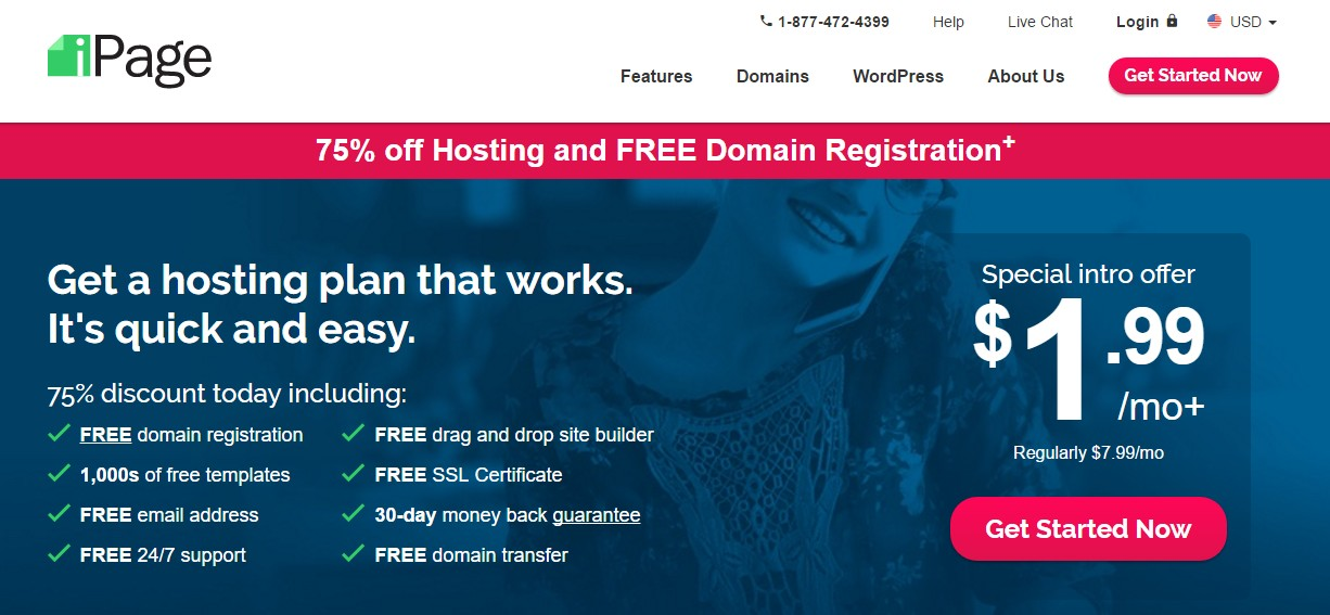 Best Web Hosting for Small Business iPage