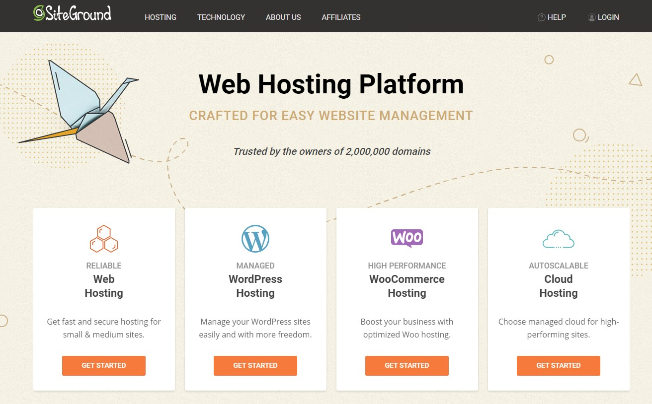 Best Web Hosting for Small Business SiteGround