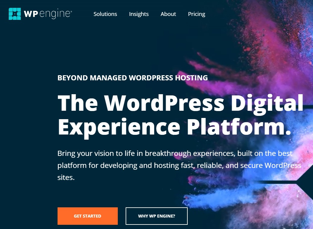 Best Web Hosting for Small Business WP Engine