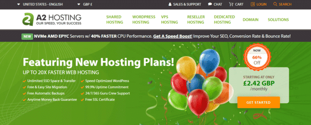 a2hosting best malaysia web hosting with database