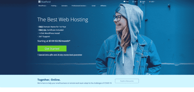 bluehost best malaysia html web hosting