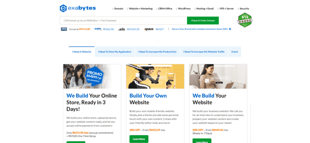 exabytes best malaysia web hosting for blogs
