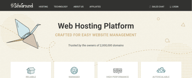 siteground best malaysia web hosting with database